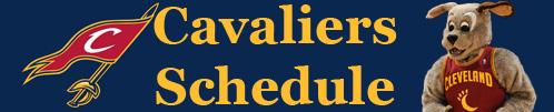 Cavs Schedule