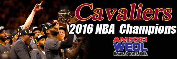 Cavs Championship banner