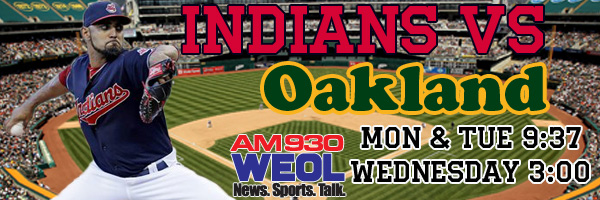 8-22 Indians v Oakland