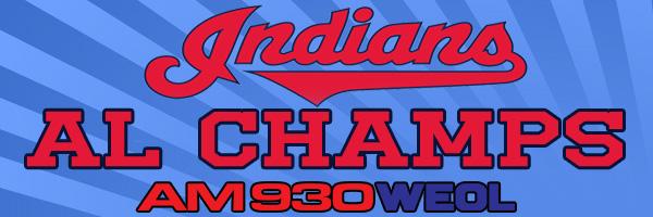 Indians AL Champs
